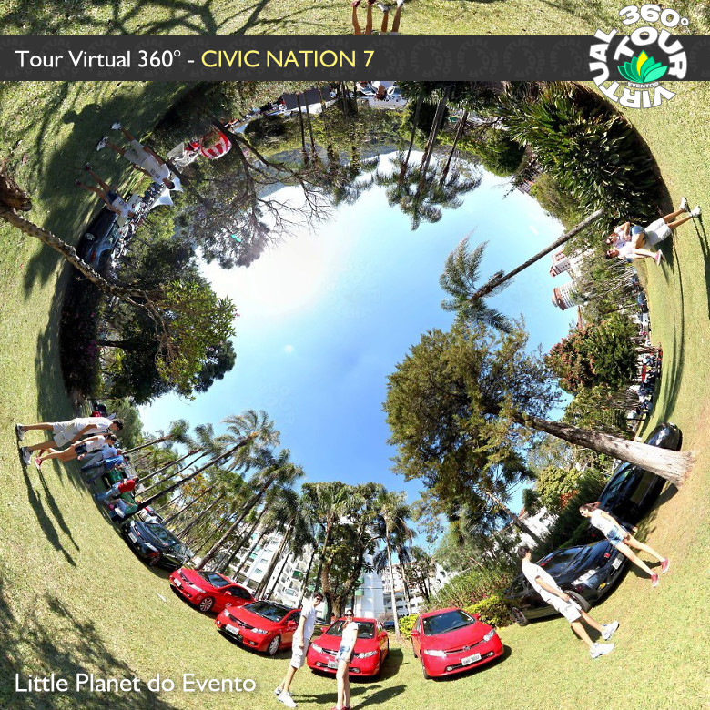 Faça o Tour Virtual 360° do Civic Nation 7