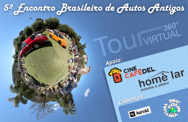 5º Encontro de Autos Antigos – Tour Virtual 360°